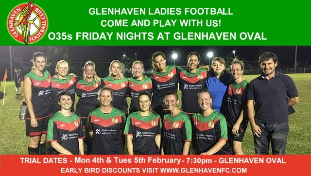 GLENHAVEN LADIES - COME PLAY WITH US IN 2019!